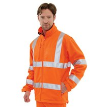 KeepSAFE High-Visibility Rail Softshell Jacket