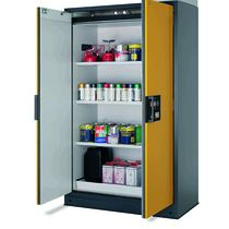 90 Minute Fire Rated Chemical Storage Cabinet - Double Door