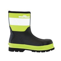 Bright Boot S5 High-Visibility Mid Safety Boot - Yellow