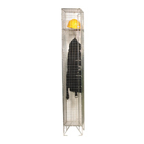 Mesh Locker x 1 Door