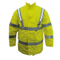 Fhoss Tex Light Waterproof Self-Illuminating Safety Jacket