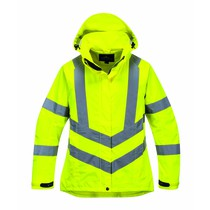 Portwest Women's High-Visibility Breathable Jacket - Yellow