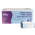 Pristine Single-Ply Self-Presenting (Z-Fold) Hand Towels