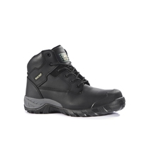 Rockfall Flint Black Hiker Safety Boot with Midsole