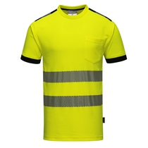 Portwest High-Visibility Vision T-Shirt - Saturn Yellow