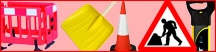 Dominator 2-Part Motorway Traffic Cone with Sleeve - 1m