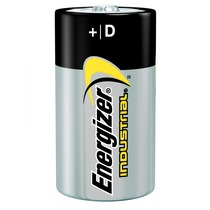 Energizer Industrial Battery Type D Pack of 12