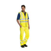 KeepSAFE Reversible High Visibility Safety Bodywarmer