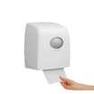 6953 Aquarius Slimroll Rolled Hand Towel Dispenser - White