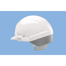 Centurion Reflex Mid Peak Safety Helmet - White