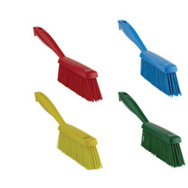 4589 Vikan Hygienic Medium Bristle Hand Brush Yellow