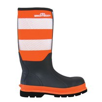 Bright Boot S5 High-Visibility Tall Safety Boot - Orange