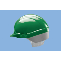 Centurion Reflex Mid Peak Safety Helmet - Green