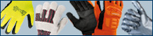 Polyco Bodyguards Black Nitrile Powder Free Disposable Gloves