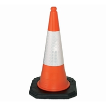 Dominator 2-Part Motorway Traffic Cone with Sleeve
