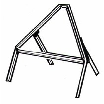 600mm Triangle Road Sign Frame