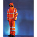 KeepSAFE XT eVent High Visibility Rail Breathable Waterproof Over Trousers