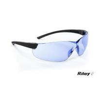 Riley® Retna™ Safety Spectacles Blue Lens RLY00095