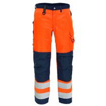 Tranemo Women's High-Visibility Trousers - Orange
