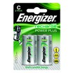 Energizer Plus Power Rechargeable Battery Type C Pack of 2