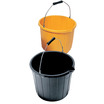Industrial Plastic Bucket - Black