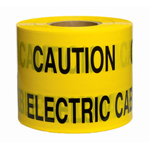 Caution Electric Cable Below Underground Tape