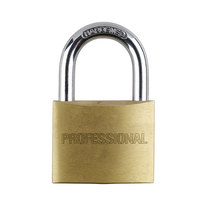 SpartanPro 50mm Quad Pack Brass Padlocks