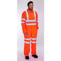 KeepSAFE High-Visibility Rail Polycotton Coverall