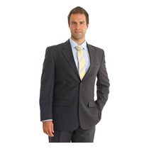 Dockland Polywool Single Breast Suit Jacket