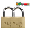 Squire 50mm Solid Brass Padlock Set