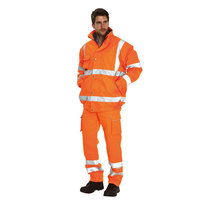 Keep Safe Pro High Visibility GO/RT 3 in 1 Bomber Safety Jacket