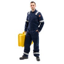 Roots Flamebuster Classic Nordic Coverall Tall Navy