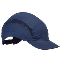 Scott Safety First Base 3 HC24 Classic Reduced Peak Bump Cap - Navy