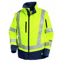 Tranemo Women's High-Visibility Unlined Work Jacket - Saturn Yellow