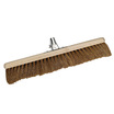 Platform Natural Coco Broom Head Fitted with Steel Bracket