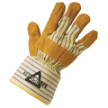 Keep Safe 'Gold' Canadian Rigger Style Leather Glove