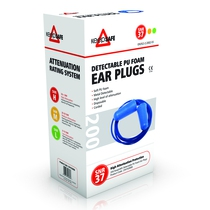 Keep Safe Detectable PU Foam Ear Plugs