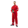 Roots Flamebuster Nordic Coverall Regular Red