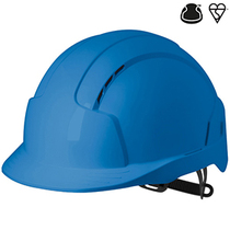 JSP Evolite Vented Slip Ratchet Safety Helmet - Blue