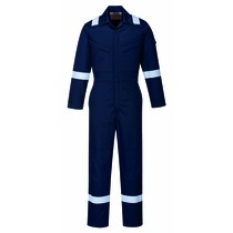 Portwest Bizflame Plus Women's FR Coverall - Navy