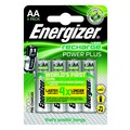 Energizer Plus Power Rechargeable Battery Type AA Pack of 4