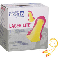 Howard Leight LL1 Laser Lite Foam Ear Plugs  Box of 100 Pairs