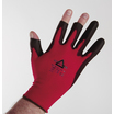 Keep Safe PU Coated 3 Digit Cut 1 Red Glove