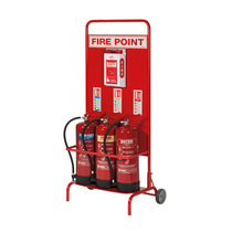 Mobile Fire Point Stand