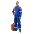 Roots Flamebuster Nordic Coverall Regular Royal Blue