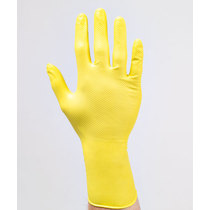 Juba Grippaz Ambidextrous Extra Strong Nitrile Glove - Yellow