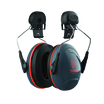 JSP Sonis 3 Safety Helmet Mounted Ear Defenders Grey