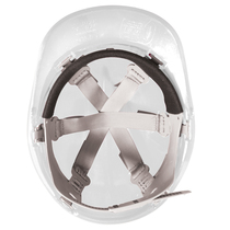 Keep Safe Pro Comfort Plus Full Peak Safety Helmet - White