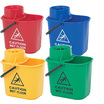 CleanWorks Colour Coded Mop Bucket - Red