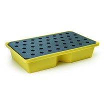 CleanWorks 60L Recycled PE Spill Tray with Grate